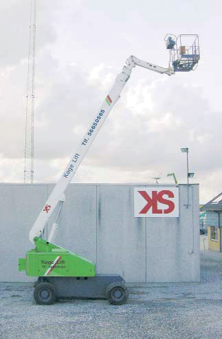 JLG 80HX+6, Køge Liftudlejning