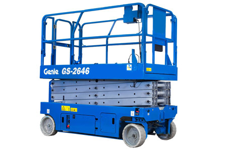 Genie GS 2646, Køge Liftudlejning